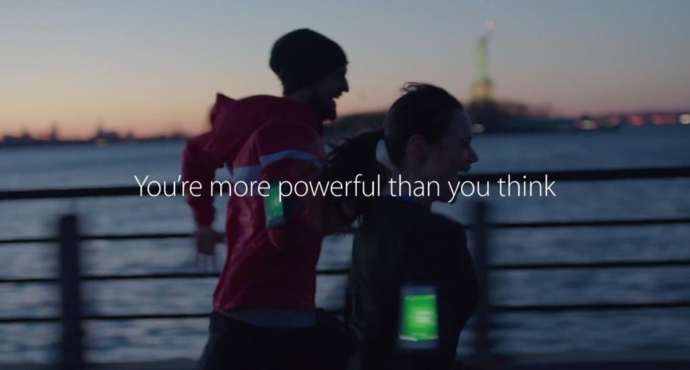 pub strenght Nouvelle publicité forte pour Apple