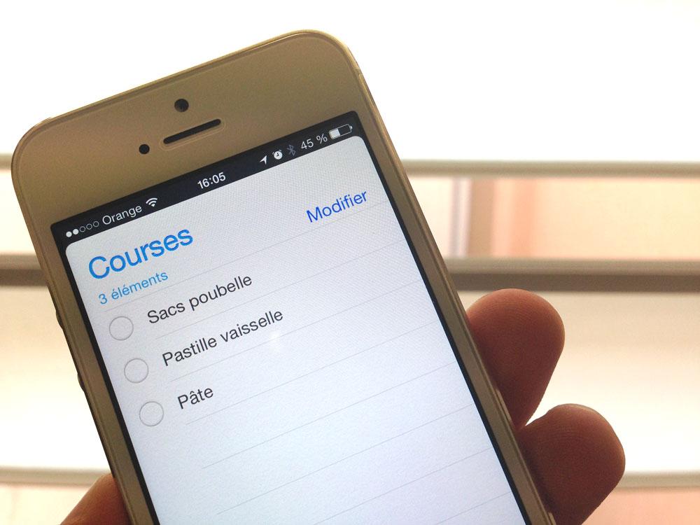 rappels siri partage [Tuto] Comment créer et partager une liste de courses avec Siri et Rappels
