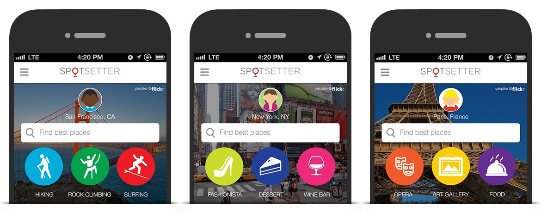 spotsetter Apple acquière Spotsetter, basé sur la recommandation de lieux