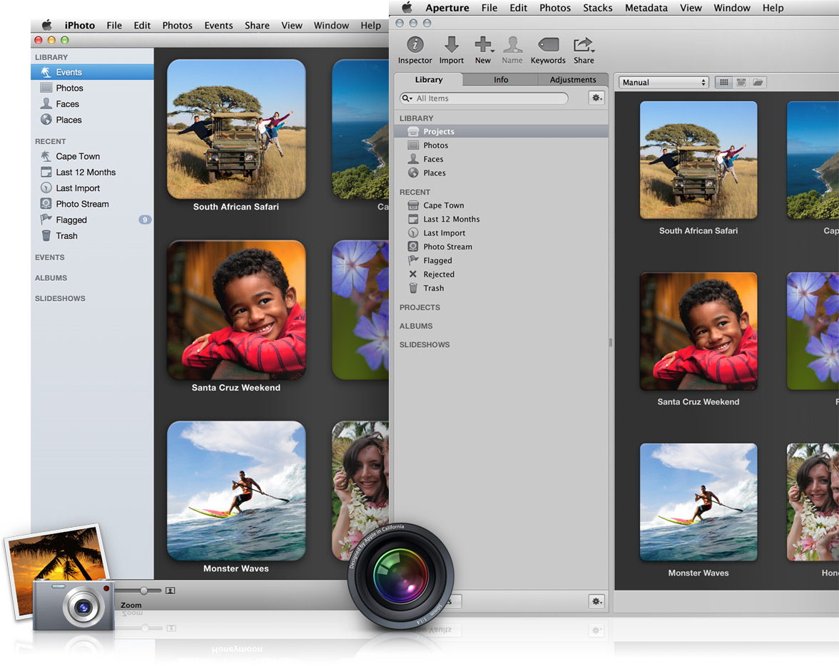whatsnew library 2x Apple abandonne Aperture et probablement iPhoto