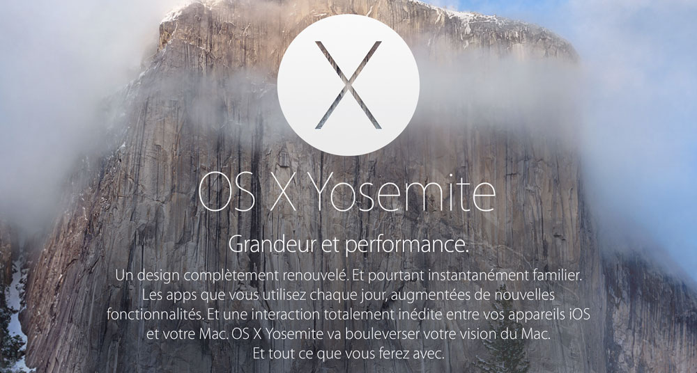 OSX Yosemite OS X Yosemite Developer Preview 5 est disponible