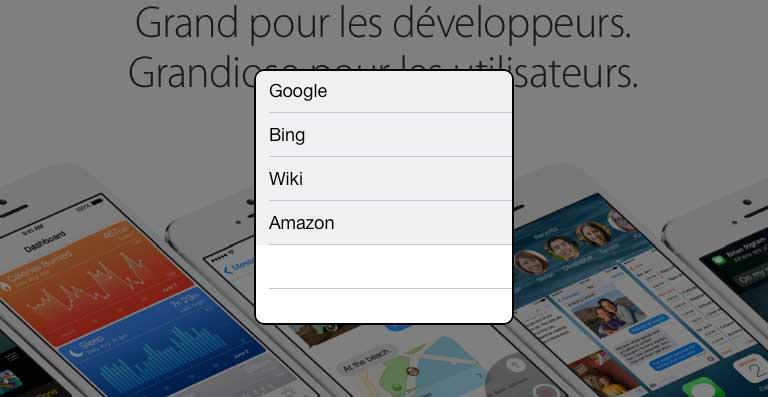 PopSearch 21 Cydia : PopSearch, effectuez rapidement une recherche dun mot ou dune phrase