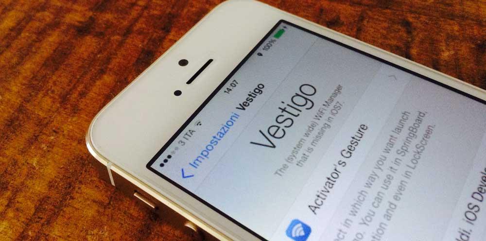 Vestigo Cydia : Vestigo, une gestion du WiFi plus rapide et depuis nimporte où