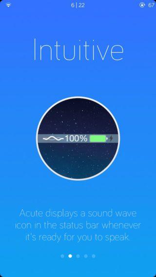 acute3 320x568 Cydia : Acute, un nouvel assistant vocal pour votre appareil jailbreaké