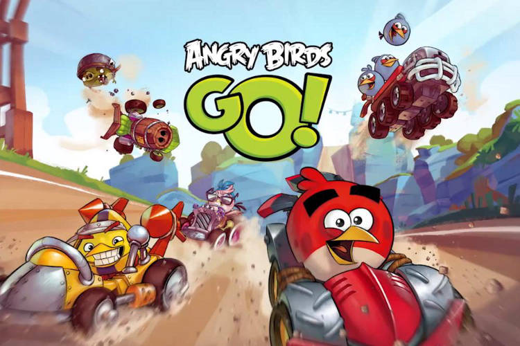 angry birds go Le mode multi joueurs arrive enfin sur Angry Birds Go!