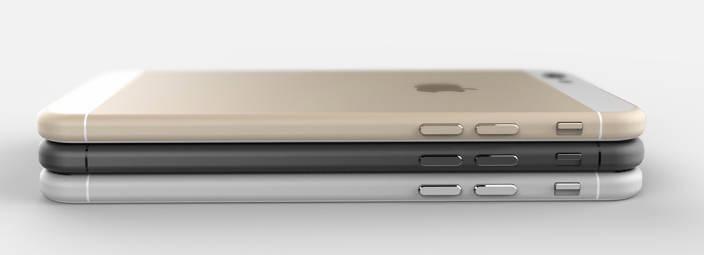 concept iphone6 1 Le retour haptique intégré dans liPhone 6 ?
