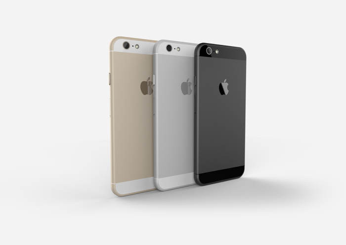 l 39 iphone 6 en couleur or gris espace et argent appsystem. Black Bedroom Furniture Sets. Home Design Ideas