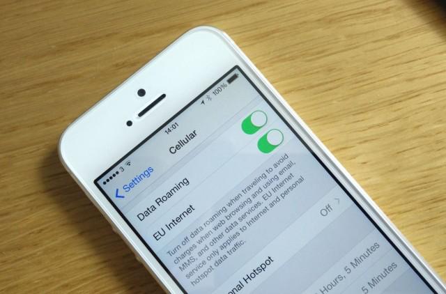 iOS 8 beta 4 Europe roaming Nouvelles options de roaming pour l'Europe dans iOS 8 beta 4