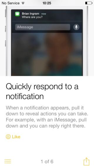 iOS 8 tip quickly respond 576x1024 320x568 [MAJ] iOS 8 bêta 4 est disponible pour les développeurs