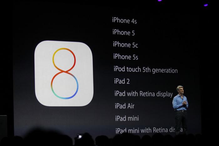 iOS 8 iOS 8 Bêta 4 pourrait être lancé lundi prochain par Apple