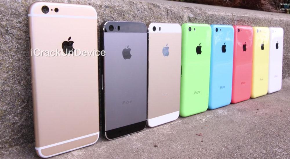 iPhone6 L'iPhone 6 de 4,7 pouces pourrait s'appeler 'iPhone Air' et celui de 5,5 pouces 'iPhone Pro'