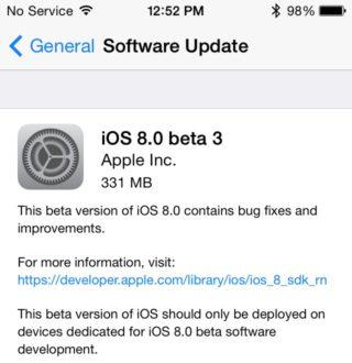 ios 8 beta 3 320x330 iOS 8 bêta 3 est disponible pour les développeurs [MAJ]