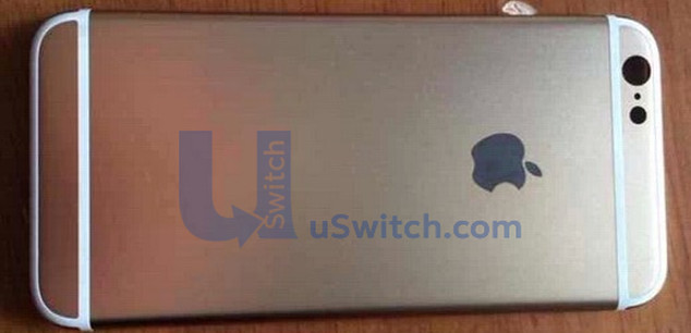 iphone 6 rear panel leak 2 634x306x24 expand h5a424d9a iPhone 6 : Un logo arrière lumineux pour notifier les alertes ?