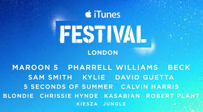 itunes festival Pharrell, Maroon 5, Blondie… au iTunes Festival 2014