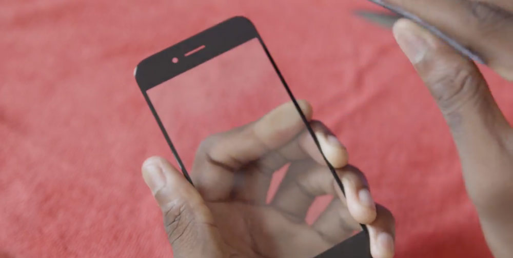 saphir test iPhone 6 : saphir or not saphir ?