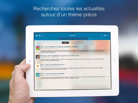 Le saviez vous : AppSystem pour iPad est disponible !