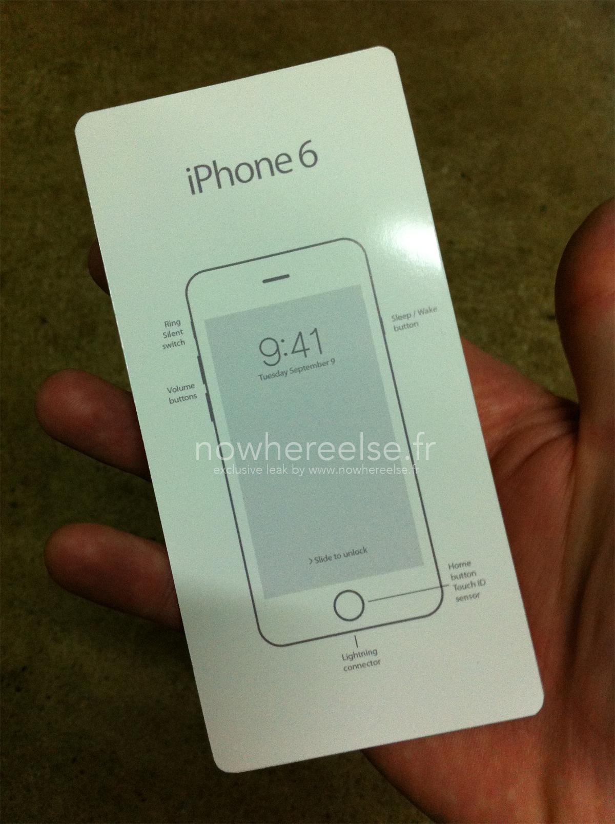 Date Sortie iPhone 6 Manuel Utilisation 2 Voici le supposé manuel de l'iPhone 6 avec sa date de lancement dessus