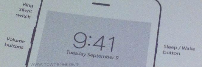 Date Sortie iPhone 6 Manuel Utilisation Voici le supposé manuel de l'iPhone 6 avec sa date de lancement dessus