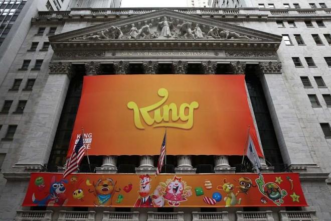 King Digital Entertainment chute en bourse L'éditeur de Candy Crush ne se porte pas bien en Bourse