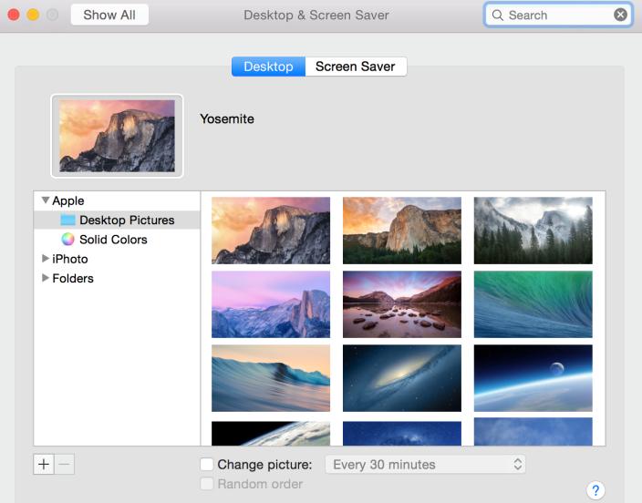 OS X Yosemite Developer Preview 6 4 Apple a lancé OS X Yosemite Developer Preview 6