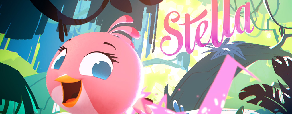 Stella Character Hero Image Angry Birds Stella disponible le 4 Septembre