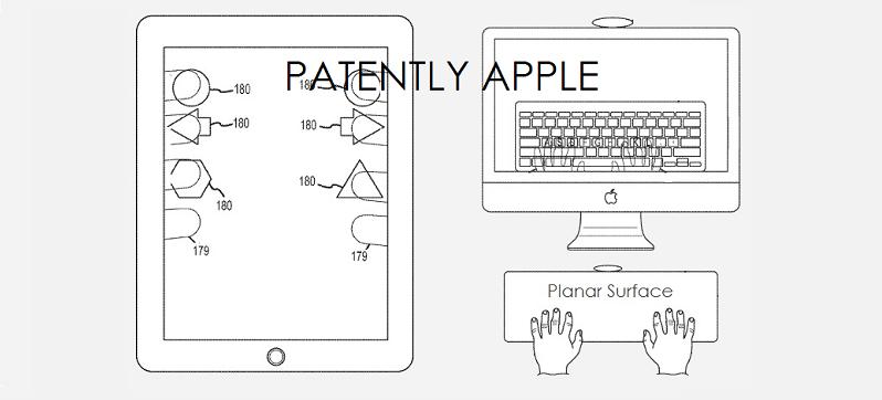 brevet Apple controle de jeu ipad Un brevet transforme le dos de l'iPad en contrôleur de jeu