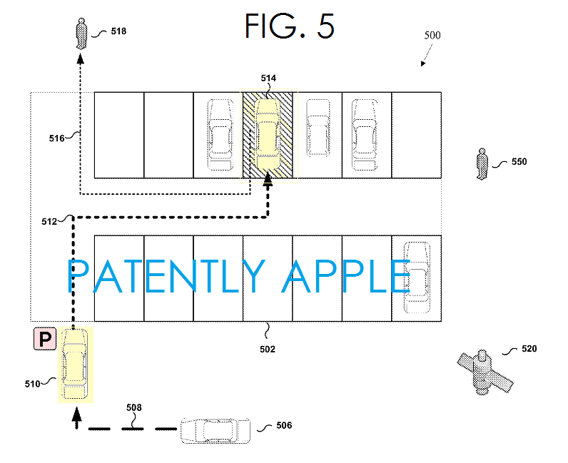 brevet apple parking auto 3 Un brevet Apple pour localiser une voiture en stationnement