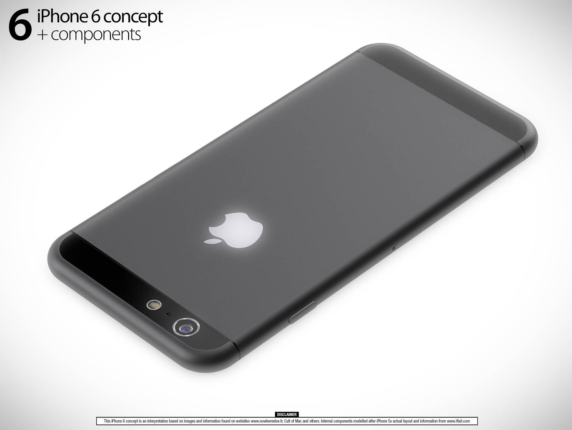iPhone 6 3D 04 L'iPhone 6 de 5,5 pouces pourrait s'appeler iPhone 6L