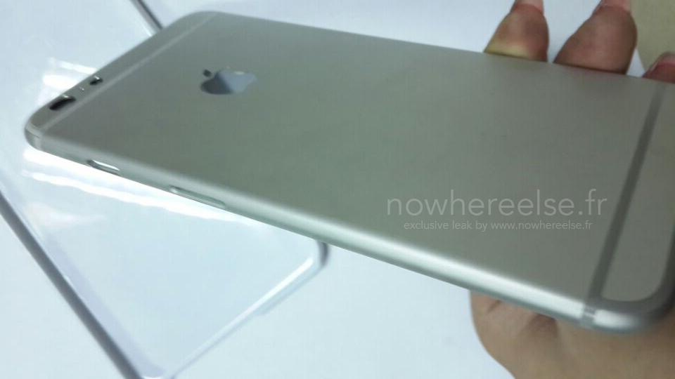 iPhone 6 Air Coque Grise 08 Le châssis de liPhone Air pointe le bout de son nez...