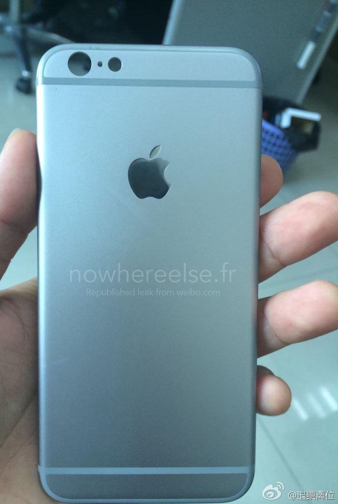 iPhone 6 Battery Door 01 La coque arrière de liPhone 6 se précise (encore) un peu plus...