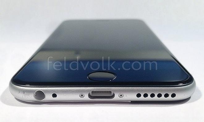 iPhone6 assemble 2 Photos du châssis partiellement assemblé de l'iPhone 6