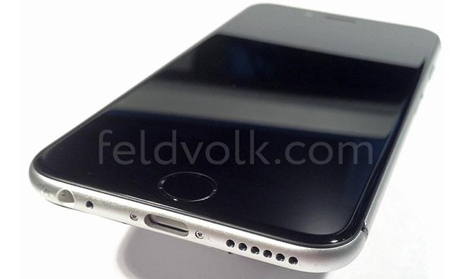 iPhone6 assemble Photos du châssis partiellement assemblé de l'iPhone 6