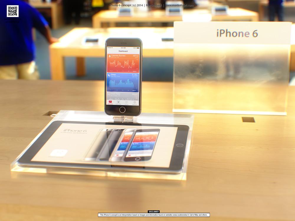 iPhone6concept 0 Concept : liPhone 6 sinvite dans un Apple Store avant lheure