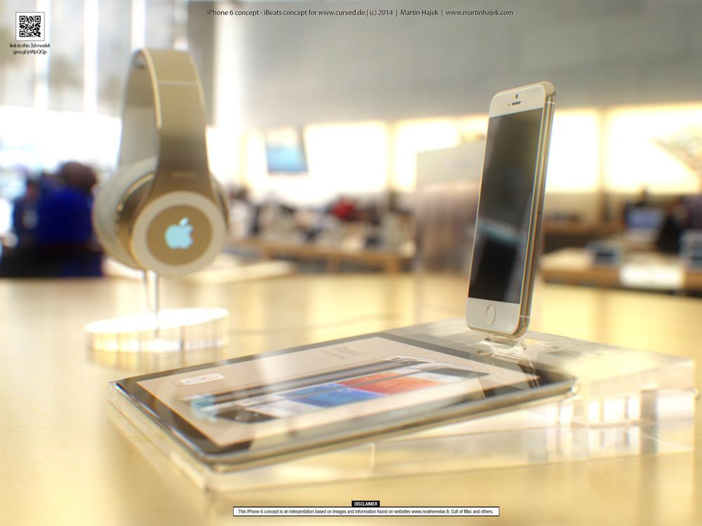 iPhone6concept 2 Concept : liPhone 6 sinvite dans un Apple Store avant lheure