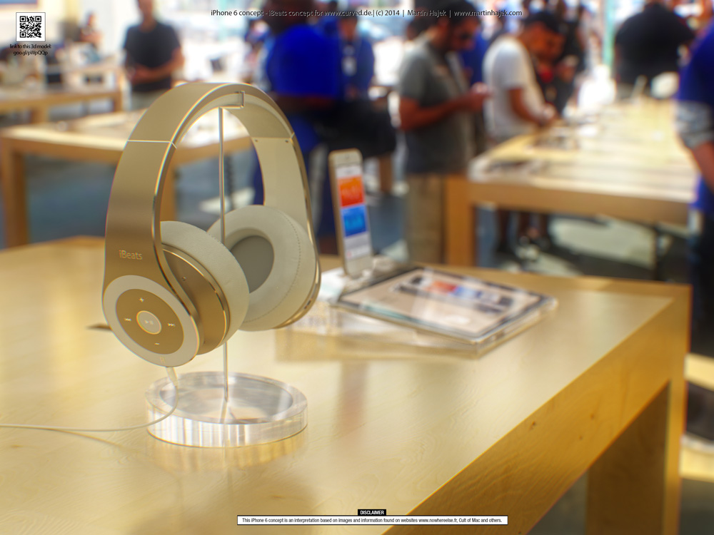 iPhone6concept 3 Concept : liPhone 6 sinvite dans un Apple Store avant lheure