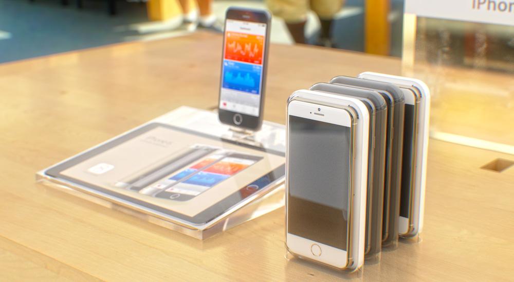 iPhone6concept 4 Concept : liPhone 6 sinvite dans un Apple Store avant lheure