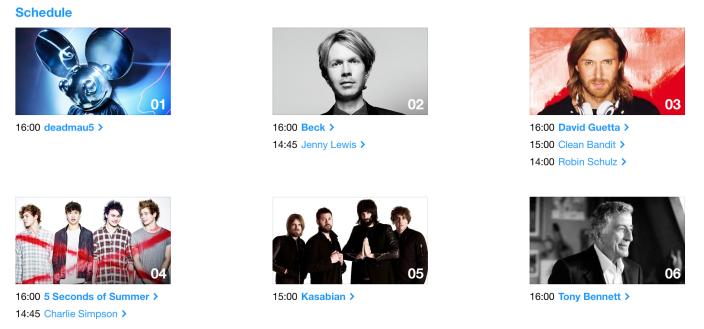iTunes Festival 2014 De nouveaux artistes sur la liste de l'iTunes Festival 2014