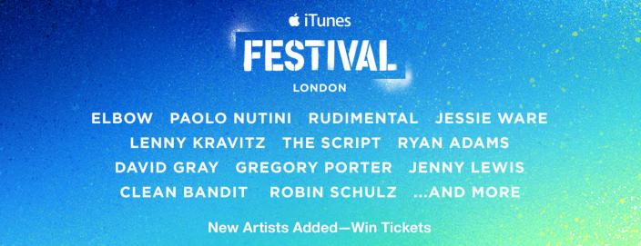 iTunes Festival London 21 artistes de plus à l'iTunes Festival de Londres