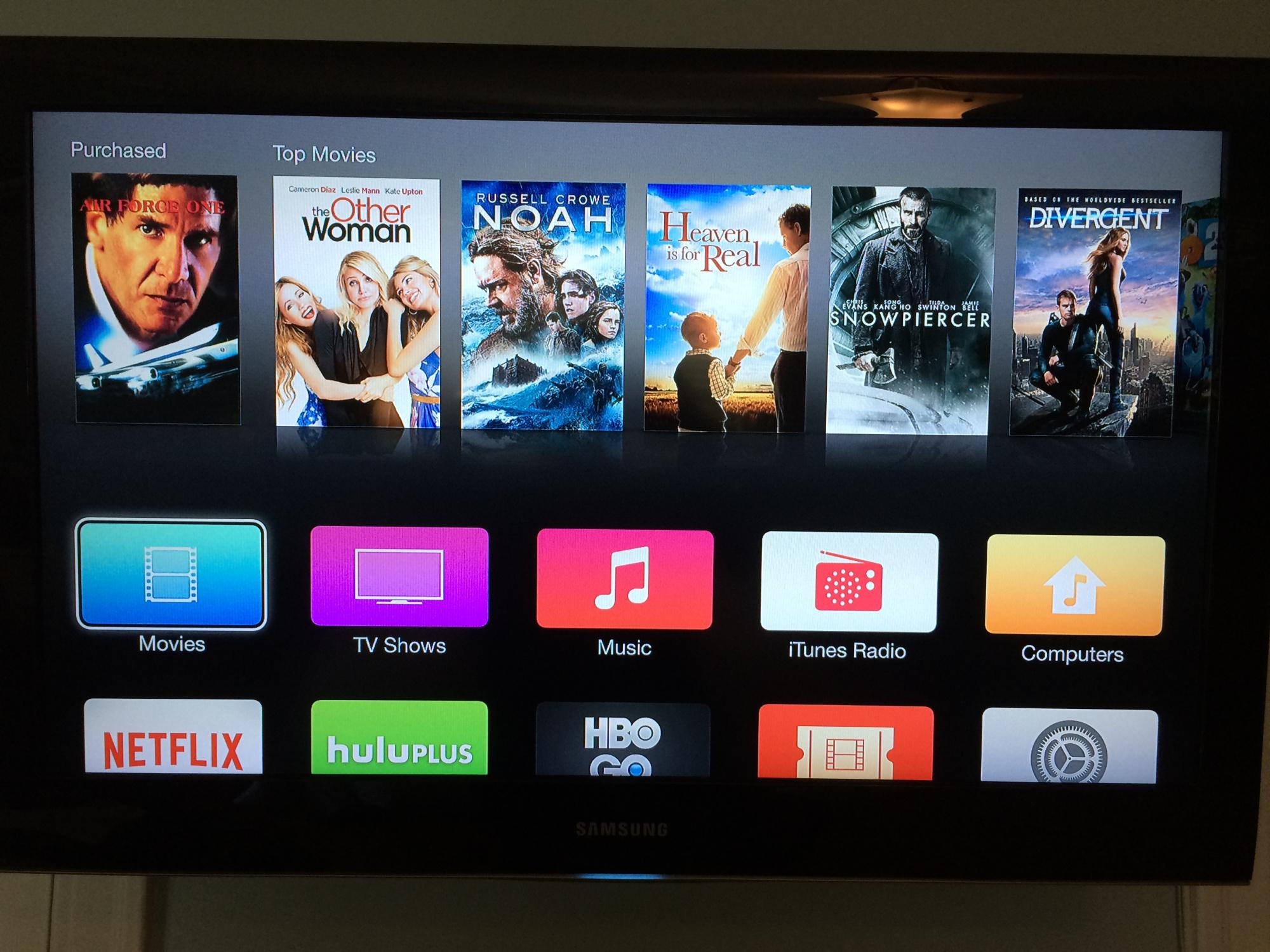 img 9311 LApple TV se met (enfin) au design iOS 7