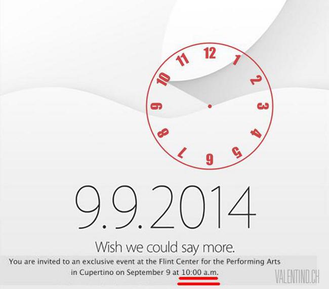 insolite iwatch cachee dans le carton d invitation Vous avez peut être manqué l'iWatch dans l'invitation d'Apple !
