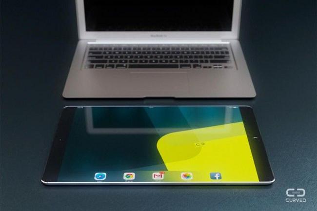 ipad 12.9 pouces Un iPad géant de 12,9 pouces en vue pour début 2015