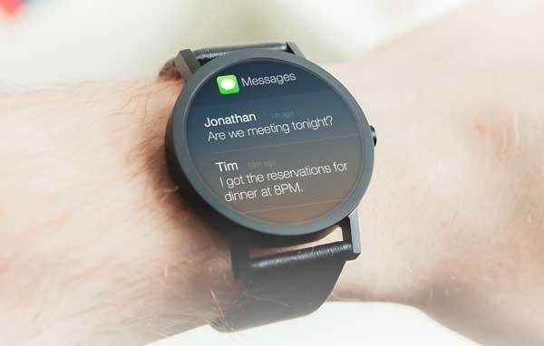 iwatch notifications iWatch : un tarif maximum de 400€ ?