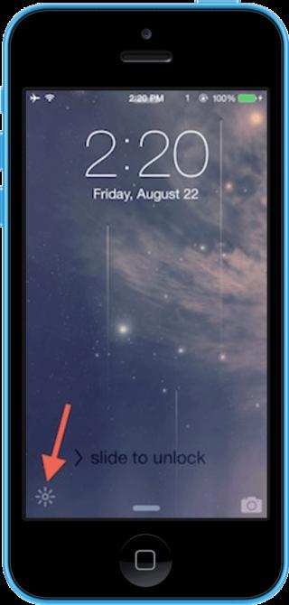 lumos 320x670 Cydia : Lumos offre un raccourcis rapide pour activer le flash