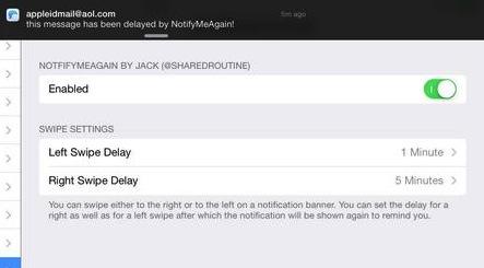 notifymeagain0 Cydia : NotifyMeAgain reporte vos notifications en un seul geste