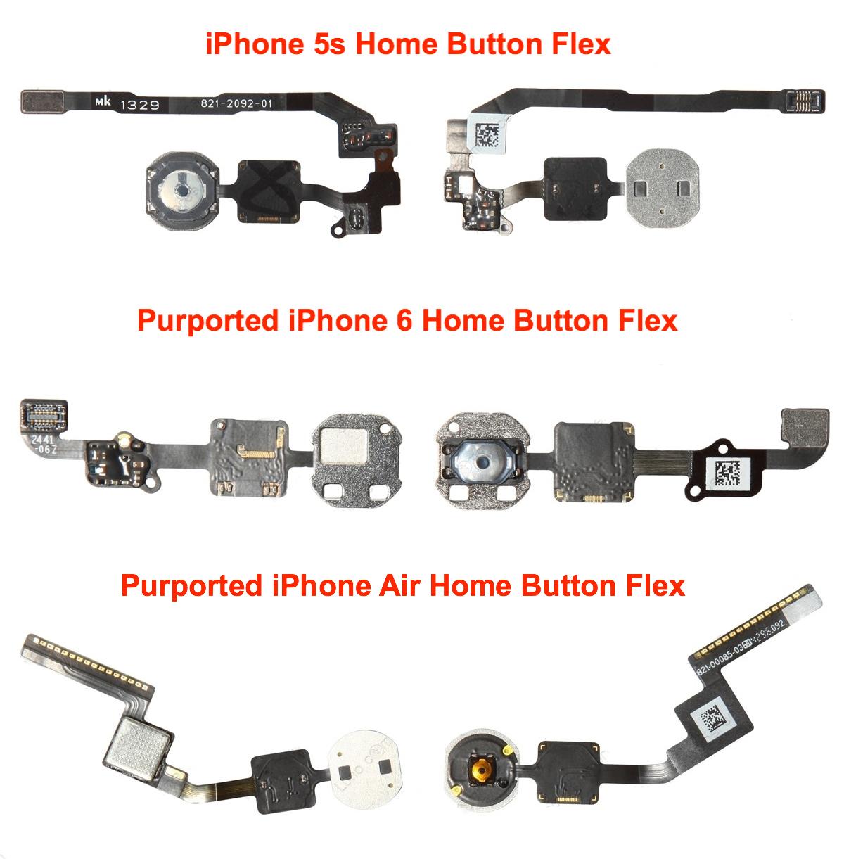 pieces iphone 6 Nouvelles pièces détachées de l'iPhone 6 en images