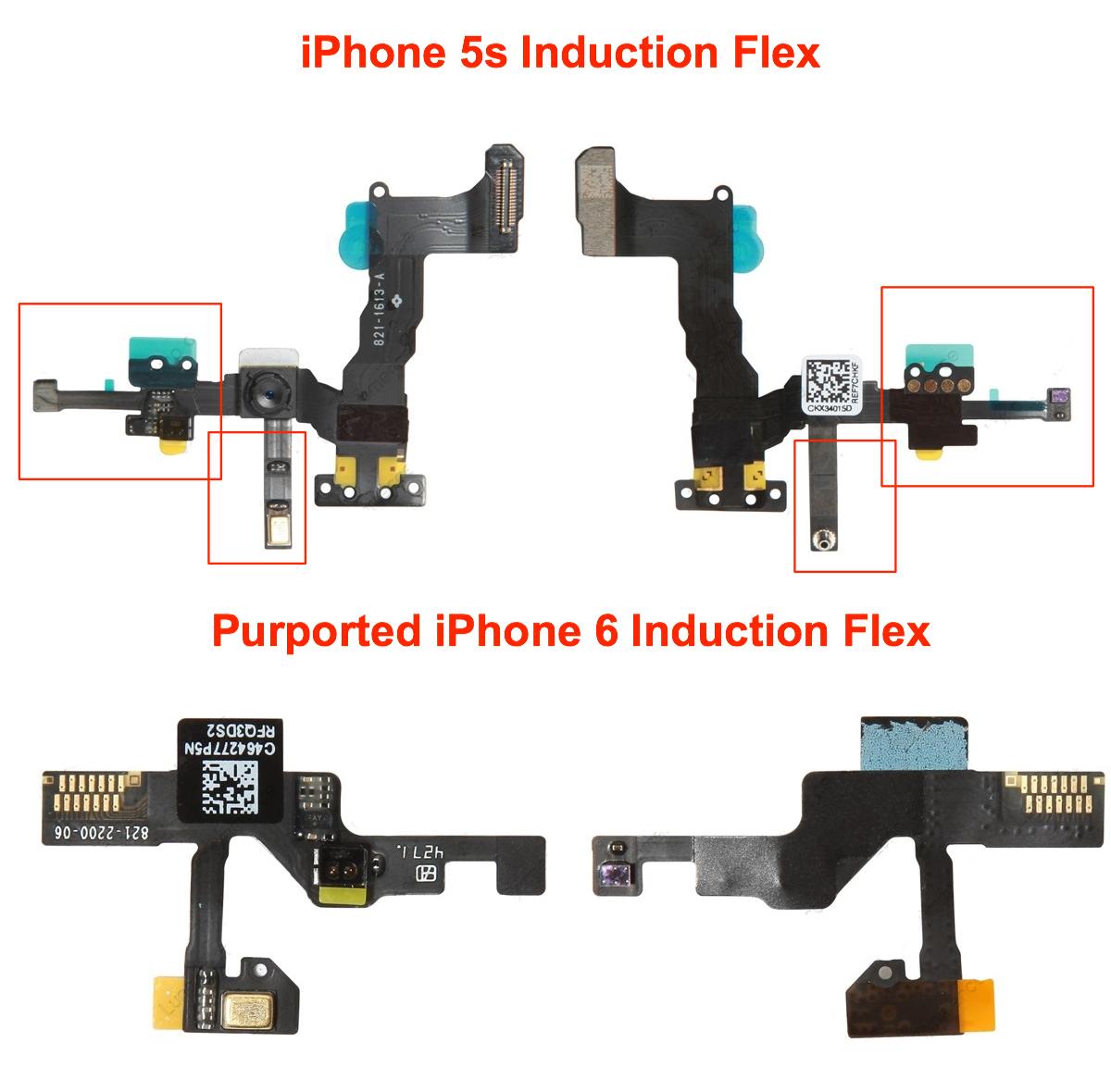 pieces iphone6 2 Nouvelles pièces détachées de l'iPhone 6 en images