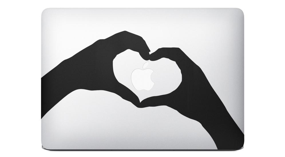 stickers apple Les stickers pour MacBook font un tabac depuis la pub Apple