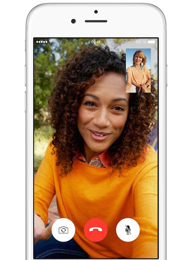 appels facetime 2 fois moins gourmands en data avec iphone 6 iPhone 6 : des appels FaceTime 2 fois moins gourmands en data
