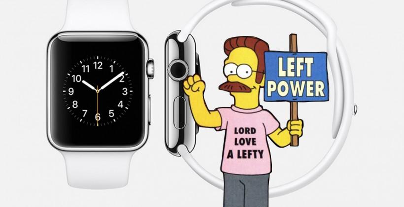apple watch main gauche L'Apple Watch est elle faite pour les gauchers ?