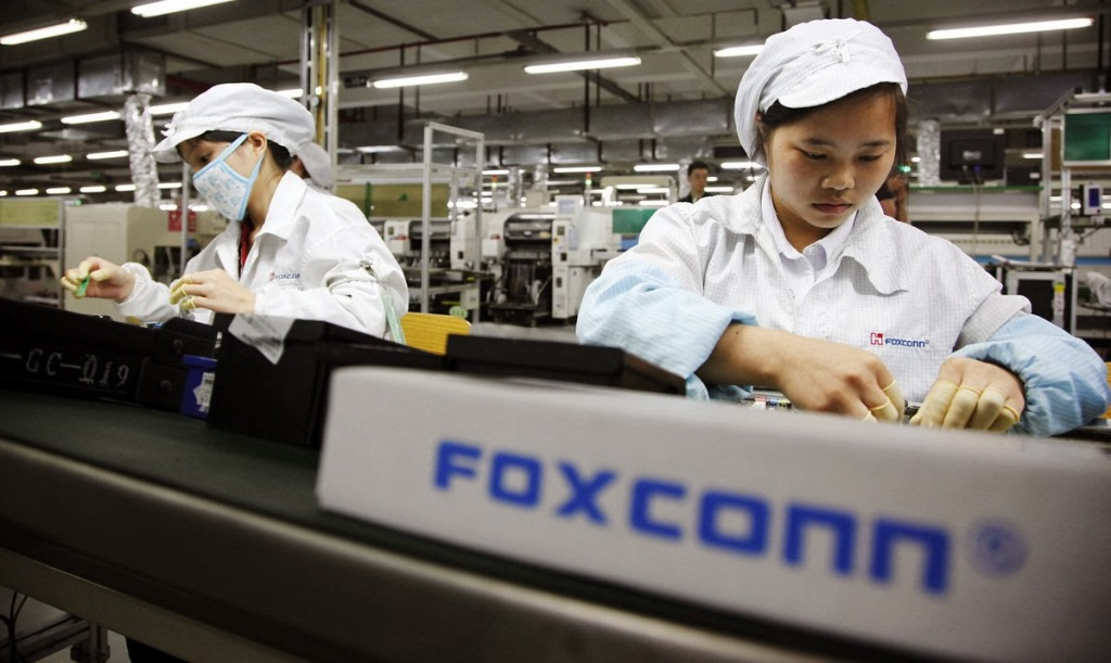 foxconn iphone 6 Foxconn fabriquera le saphir des prochains écrans diPhone ?